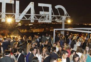 Inauguración Sky Club 2014, en el Club Financiero Génova